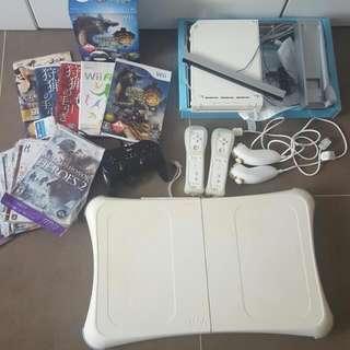 Wii 全套,歡迎試排
