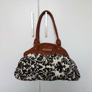 Bajou Collections Black & White Pattern Bag