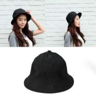 休閒街頭時尚漁夫帽 黑色