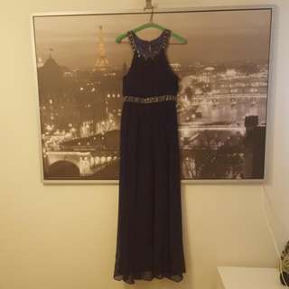 Forever New Midnight Blue Formal Dress | Size 8