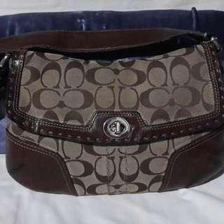 REPRICED!! Authentic Coach Shoulder Bag