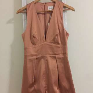 Rose Gold Seed Playsuit