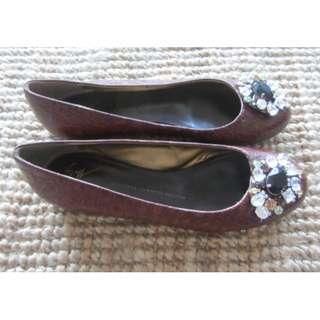 Giuseppe Zanotti flat shoes , size 38, AUS 8