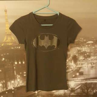 Jay Jays Dark Grey Batman T-Shirt | Size XS