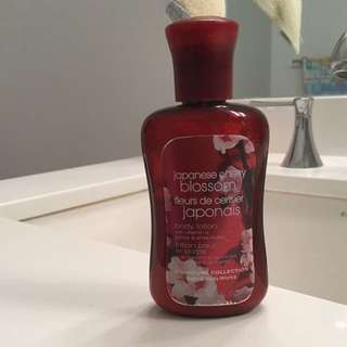Japanese Cherry Blossom Lotion