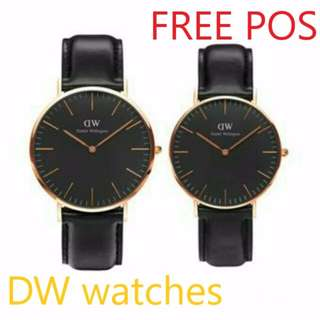 100% REAL Photo Daniel Wellington Classic Black (12 Months Warranty)