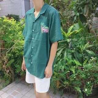 夏天風味短袖襯衫