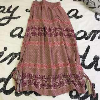 Maxi Flowy Skirt