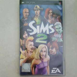 SIMS 2 cartridge for PSP