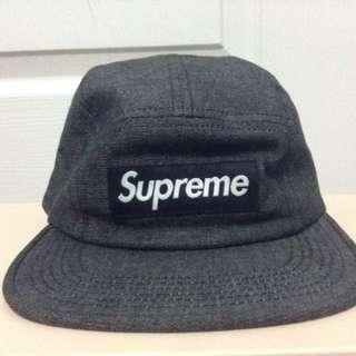 Rare Supreme Camp Cap w/ Croc Strap