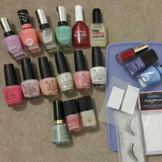 Bulk Lot Sally Hansen Opi Chanel Revlon