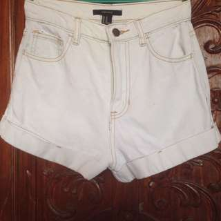 High Waist Shorts Forever 21