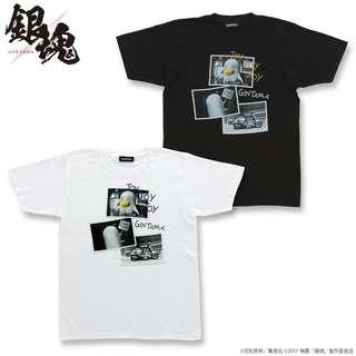 実写版「銀魂」エリザベスフォト  T shirt (黑色) (白色)