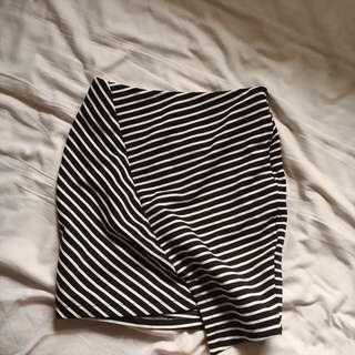 ttr lauren pelmet skirt striped