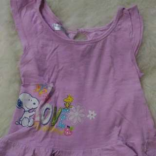 Snoopy Baby, Size 2