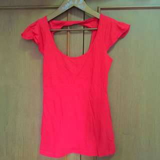 Cotton On Top Red Merah