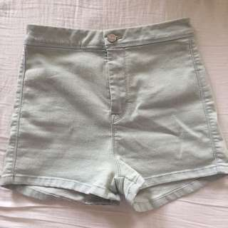 Pull And Bear Denim Shorts