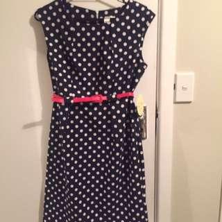 Retro Dress-new Size 10