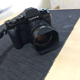 Fuji Xt-1, 35mm 1.4 Manfrotto Tripod And Carrier