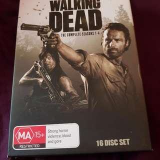 The Walking dead seasons 1-4