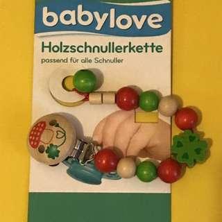 Babylove Pacifier Handle/bracelet