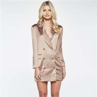 Bardot Kaia Blazer Dress/jacket Size 6