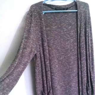 Frenchtoss Knitted Long Cardigan