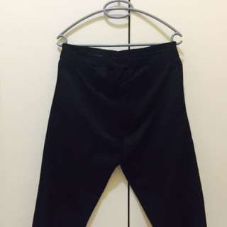 Main Street Black Pants (size 32 - length 37.5inches)