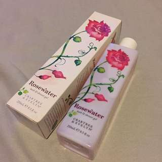 全新Rosewater (bath & shower gel)