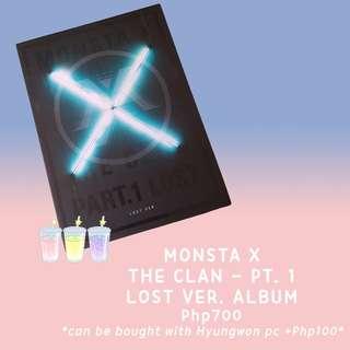 MONSTA X - THE CLAN (LOST VER.)