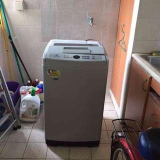 7.5kg samsung top loader washing machine
