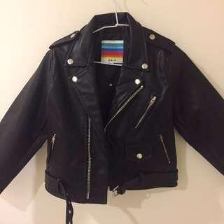 Unif 皮外套 機車夾克(含運)