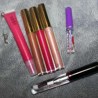 Lip glosses