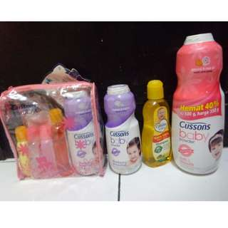 Paket gift cussons baby .