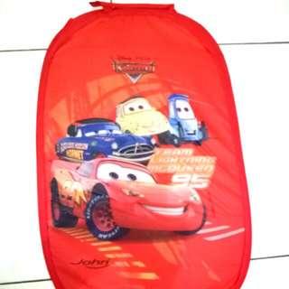 Keranjang Baju Kotor Kartun Cars