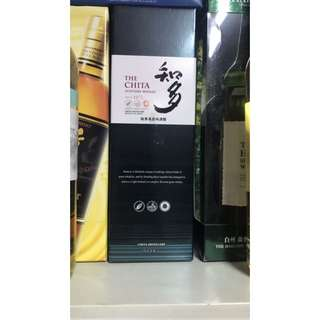日本威士忌 知多 Suntory Whisky 700ml  $350