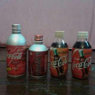 Botol Unik Coca Cola Thai And Japan Alu Masih Ada Isi