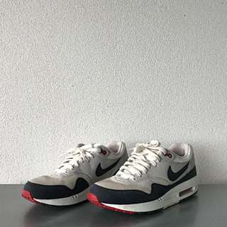 Nike Air Max 1 OG, White/Navy