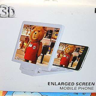 All New 3D Enlarged Screen Mobile Phone-3D 手机營幕放大器