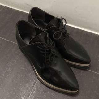 韓夾心紳士鞋