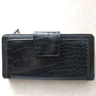 Olga Berg Black Wallet