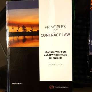 2 Contract Law Textbooks - Thomson Reuters