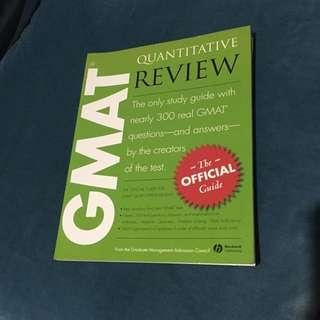 GMAT考試用書