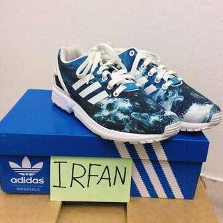 Adidas ZX Flux Ocean Blue Shoes.