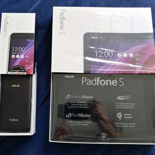 Asus Padfone S Phone & Tablet