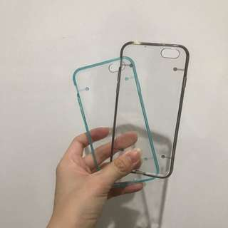 Gray & Tosca Case for iPhone 6