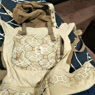 ergo organic baby wearing (carrier)