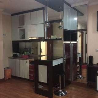apartment ancol mansion lt 30 sewa/jual