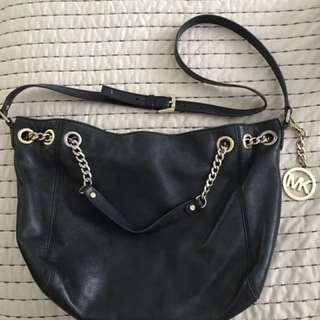 Michael Kors Black Leather Purse/bag