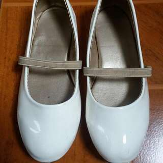 white doll shoes